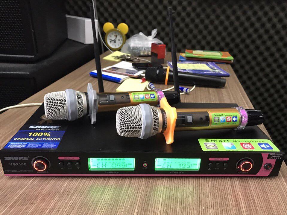 Míc UGX10 II cho phòng thu, studio chuyên nghiệp