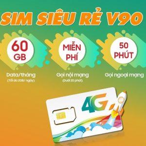 Sim 4G Viettel V90