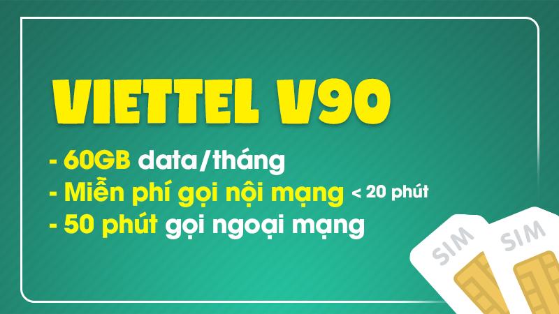 Sim Viettel V90